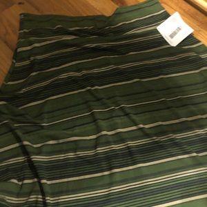 Brand new 3xL Azure skirt by LuLaRoe